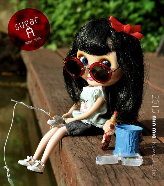 SugarA sunglasses for neo blythered by LittleSugarA on Etsy