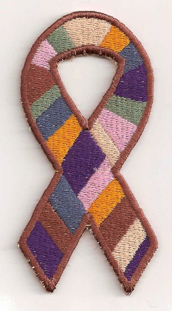 The Original Doctor Who Awareness Ribbon Patch:  Storied Threads, Veronica, Taunton, Maine, Etsy