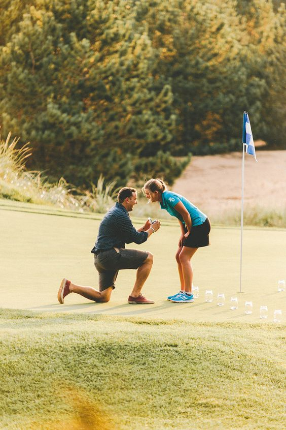 Too sweet not to share | Marriage Proposal on the Golf Course (6)