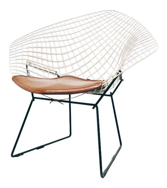 Vintage Bertoia Diamond Chair For Knoll On Chairish Com Bertoia