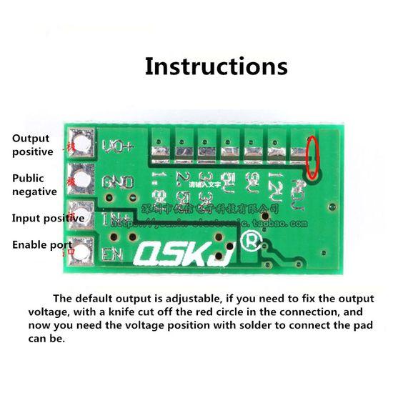 Rs 280 5pcs Mini Dc Dc 12 24v To 5v 3a Step Down Power Supply Module Voltage Buck Converter Adjustable 97 5 1 8v 2 5v 3 3v 5v 9v 12 Power Supply Power Mini