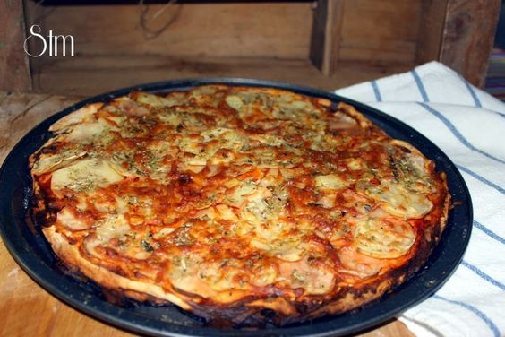 Potatoes pizza you have to prepare it!!!