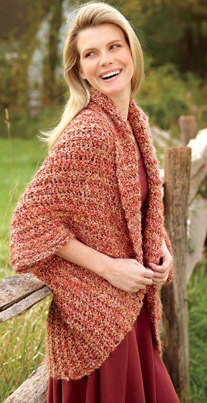 Turtleback Jacket Free Pattern Crochet : LIKED THE TURTLEBACK? SIMPLE SHRUG TO CROCHET ? FREE ...