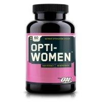 Optimum Nutrition Opti-Women is a daily multi-vitamin that includes 40 active ingredients and essential daily nutrients.  This multi-vitamin is the ultimate nutrient system for active women.  This is a convenient and complete formula that offers 23 vitamins and essential minerals.  If you're taking multiple vitamins for your health, then you should take a look at the ingredients in this blend so you can slim down the amount of vitamins you are taking.