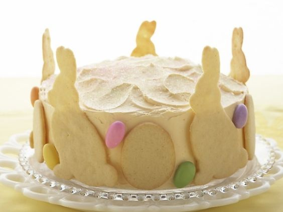 Torte Osterhase Weiße Schokolade