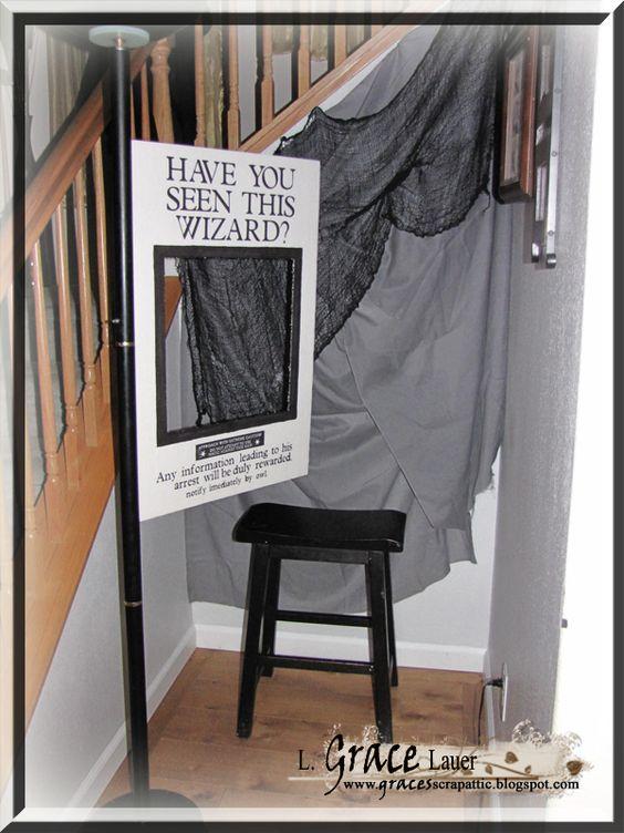 Activité : un photobooth Harry Potter