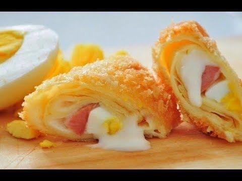 Resep Risoles Mayo Sosis Youtube Cemilan Resep Masakan