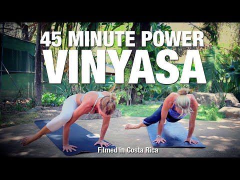 Power Vinyasa Flow Yoga Class - Five Parks Yoga - YouTube