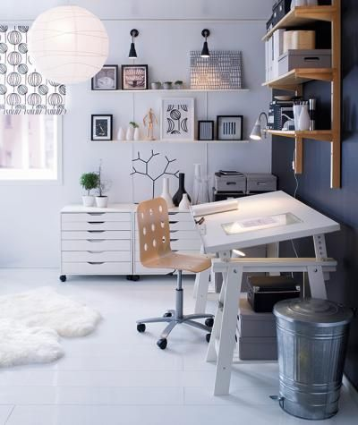 Vika Blecket Table Top From IKEA | Creative Space | Pinterest | Layouts,  Nice And Studio