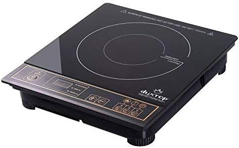 Amazon Com Duxtop 1800w Portable Induction Cooktop Countertop Burner Gold Kitchen Dining Induction Cooktop Portable Cooktop Cooktop