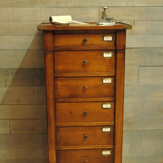 meuble de notaire tiroirs la billardiere meubles de m tiers designer watch pinterest. Black Bedroom Furniture Sets. Home Design Ideas