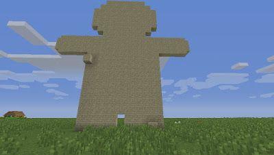 Orphea2012 Youtube et Minecraft: Exclusivité : Un nounours en cours de construction...