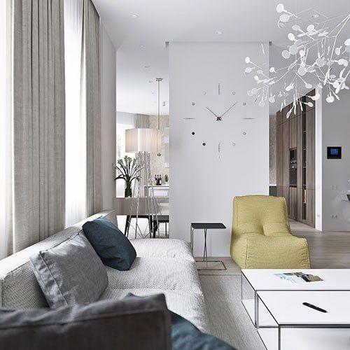 Neutral Modern Apartment By Anton Sukharev Interior Cravings Home Decor Inspiration Interior Design Tools And Diy Design Courses Apartment Interior Interior Design Home Decor