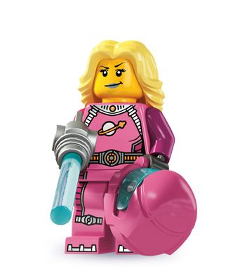 Intergalactic Girl Series 6 All Minifigure packets will be opened to guarantee the correct Minifigure – Comes complete with opened packets leaflet and accessories