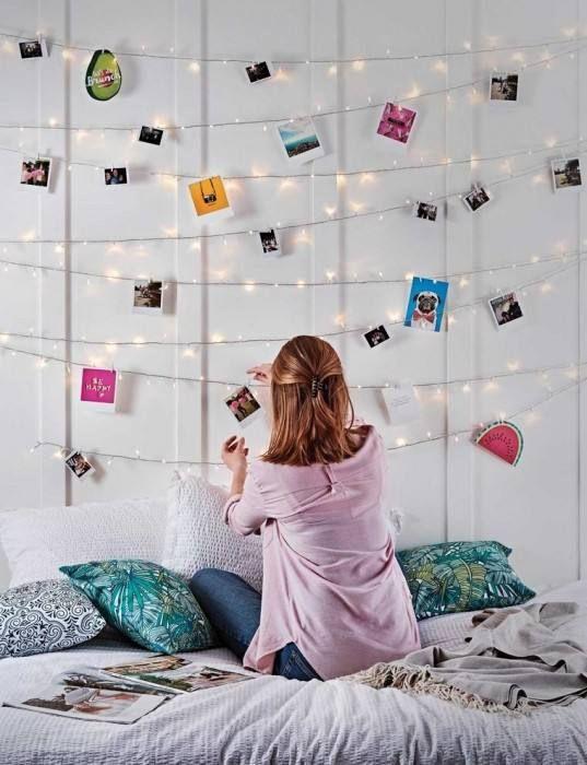 Schlafzimmer Deko Ideen Schlafzimmer Lichterkette Schlafzimmer