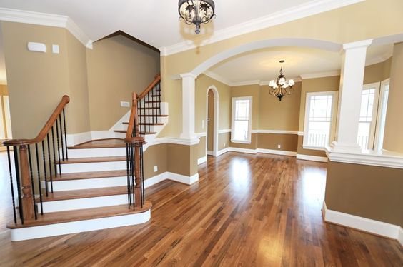 Interior Paint Color/entry floor