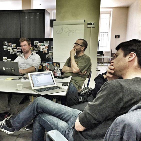 Démarrage du DesignCamp.