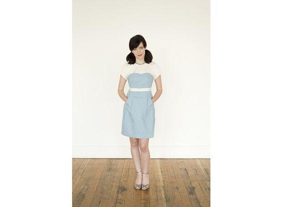 Schnittmuster Kleid Macaron von Colette
