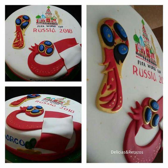 tarta fifa copa mundial rusia 2018