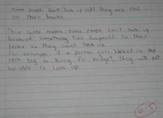 Coming from a true kid ninja-midget! #win shutupimtalking.com is hilarious!
