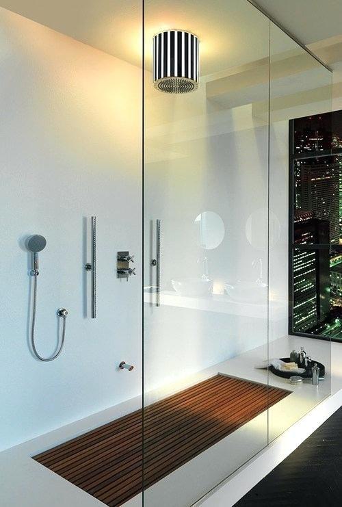 Indesign Blog Post Wooden Floor Showers 5 Wooden Shower Floor Ideas Teak Shower Floor Ideas Wood Modern Bathroom