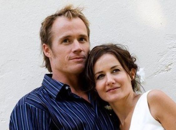 Steve Askin with his wife Elizabeth Askin. Photo / Givealittle
