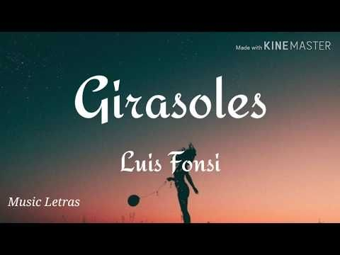 Luis Fonsi Girasoles Letra Hd Youtube Instagram Music Youtube