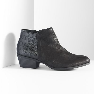 Simply Vera Vera Wang Ankle Boots - Women | Made for walking ...