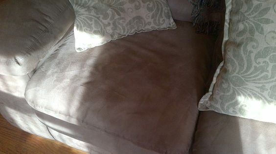 My micro fiber couch good as new!