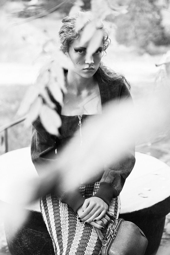 Adrienne Jüliger by Lachlan Bailey for Dazed Magazine Spring Summer 2016 9