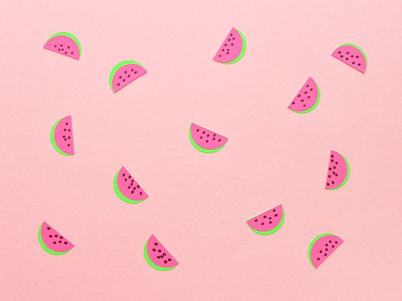 HOW TO MAKE WATERMELON STICKERS