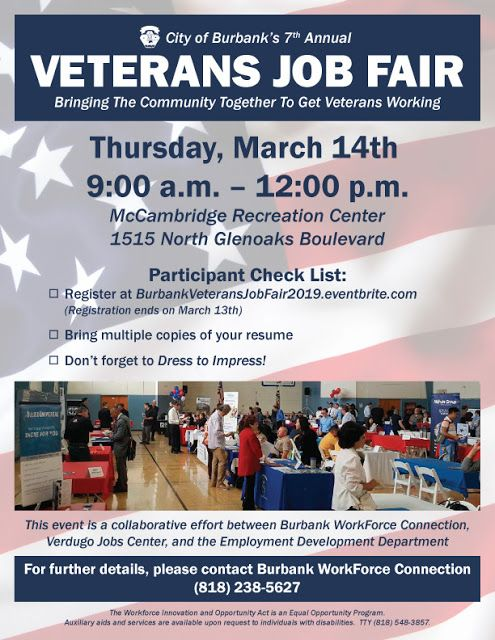 Military Civilian Hot Jobs Events And Helpful Information For Veterans Seeking Civilian Careers City Of