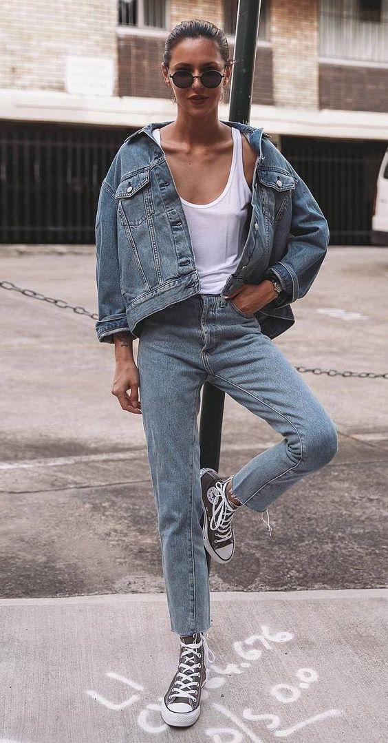 Модный образ с кедами: с чем их носить, чтоб быть самой стильной