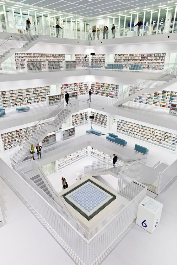 The New Stuttgart City Library - Alemania
