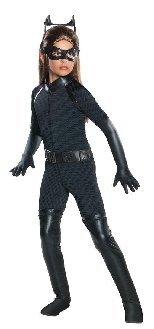 Catwoman Kinderkostüm |Mit dem schwarzen Katzenkostüm, wirst du zum Superhelden | horror-shop.com #Batman #Superhero #Catwoman