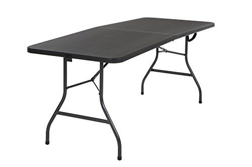 Cosco Deluxe 6 Foot X 30 Inch Fold In Half Blow Molded Fo Https Www Amazon Com Dp B00doztm3o Ref Cm Sw R Pi Dp U Folding Table Folding Dining Table Table