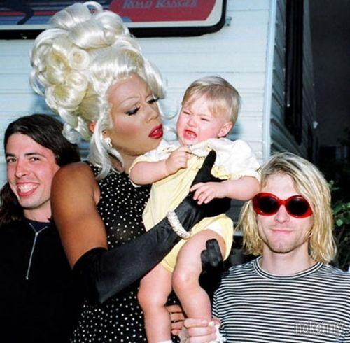 Dave Grohl et Kurt Cobain