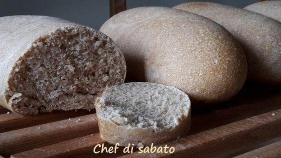 Il pane di farro con lievito naturale ha un gusto del pane casareccio, è ideale con gli affettati ma è squisito anche con il formaggio o con la nutella