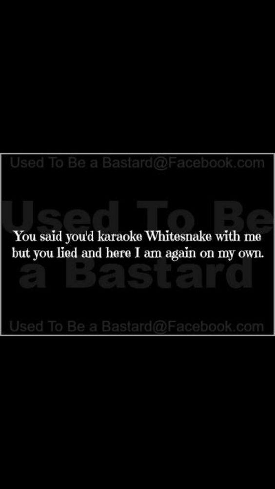 I miss karaoke