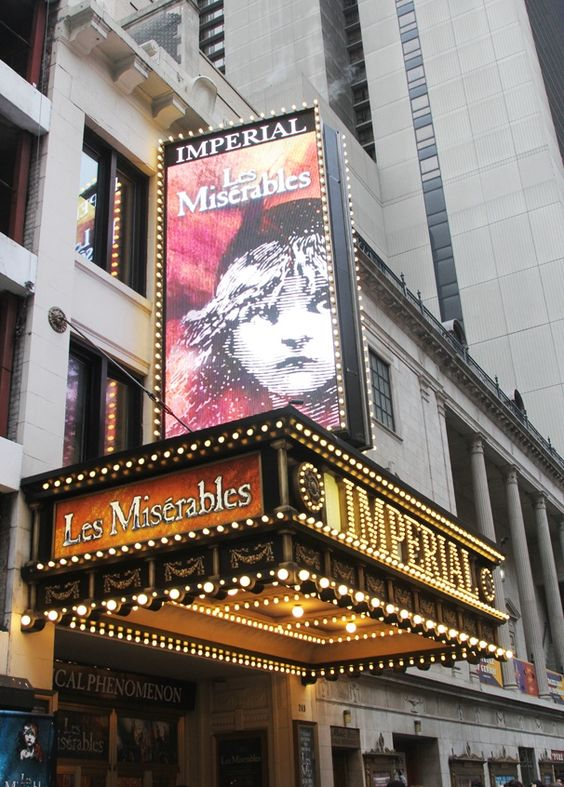 Les Miserables! returns to Broadway!