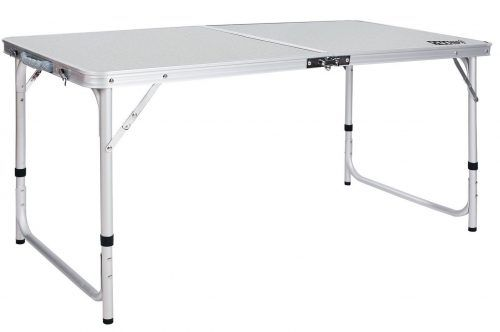 Redcamp Aluminum Folding Table 4 Foot Portable Aluminum Folding Table Folding Table Table