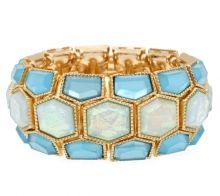 Opalescent Tile Cuff