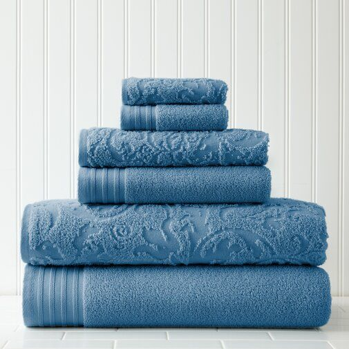 Jarred 6 Piece 100 Cotton Towel Set Reviews Joss Main Towel Set Cotton Bath Towels Cotton Towels