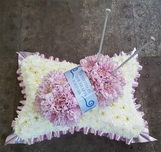 Ball of Wool on a Pillow Base | Funeral