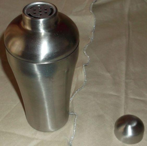 Kerastase Paris Brushed  Metal Container Gentle Use Powder Jar #Kerastase $19.99 Ebay