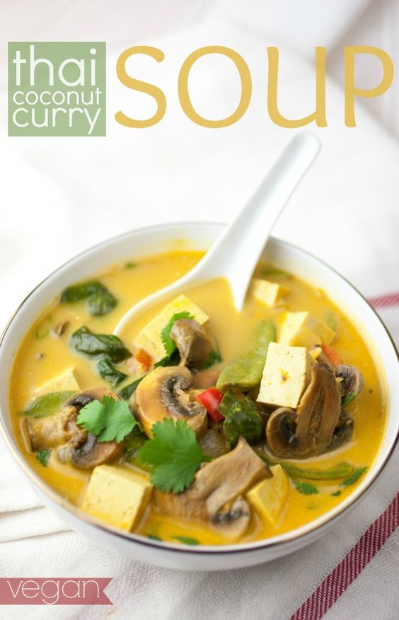 Produce On Parade - Thai Coconut Curry Soup | @Produce On Parade #eatcleanpinparty --------> http://tipsalud.com