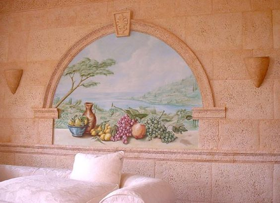 Wandmalerei Wandgemälde Fassadengestaltung Pastellgemälde Wandmalereien…