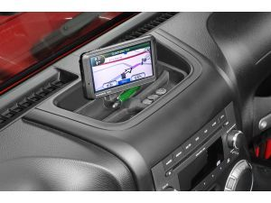 Daystar Upper Dash Panel with Universal Ball Mount