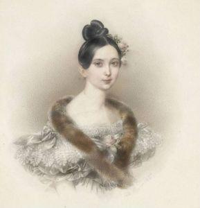 Portrait of a Lady - Johann Nepomuk Ender - The Athenaeum:
