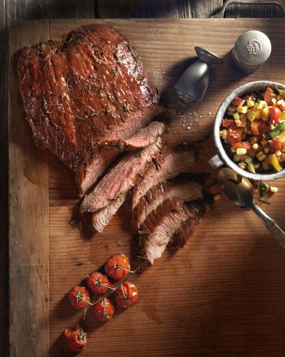 Cedar Planked Steak